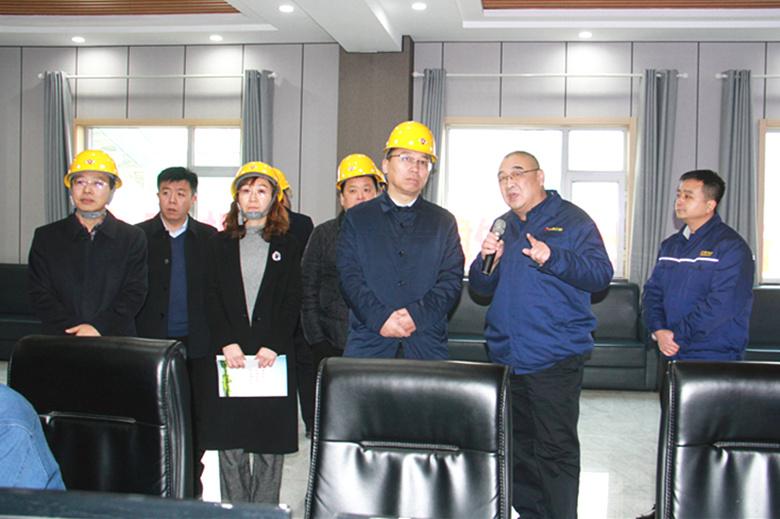 临汾市2019年度集中考核组到公司调研