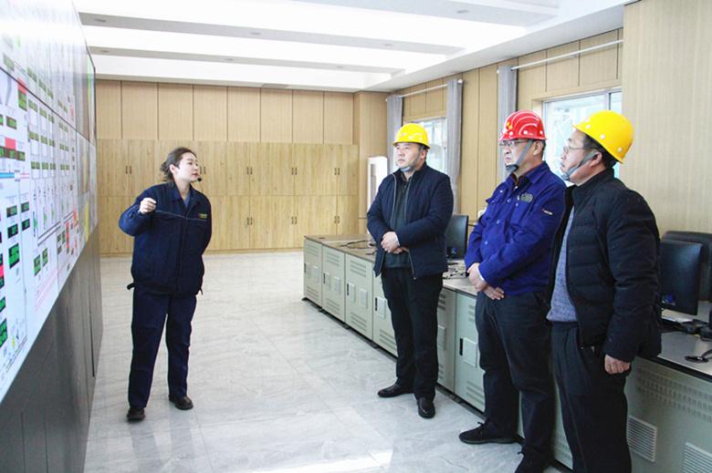 山东泰山钢铁集团管理团队前来公司考察对标