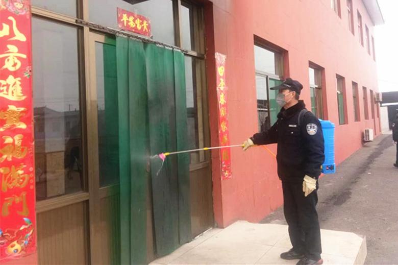 宇丰铁厂:全力做好疫情防控工作