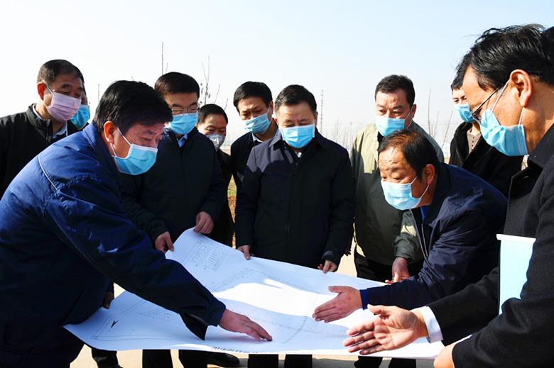 曲沃县委书记杨保春调研晋南钢铁集团重点项目推进情况